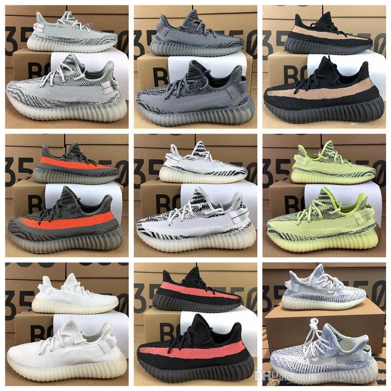 Hombre Shoes Deportivas Hot Calidad De Alta Para 2 Zapatillas Running Diseño 0 Blanco Static Zebra Cream V2 Zapatos Beluga Negro Casual CthQdxsr