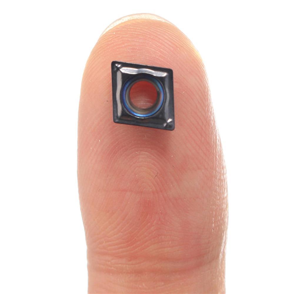 10шт твердосплавный CCMT2-1-SM CCMT060204-SM IC907 Лезвие из карбида с ЧПУ Вставки токарный резак инструмент аксессуары