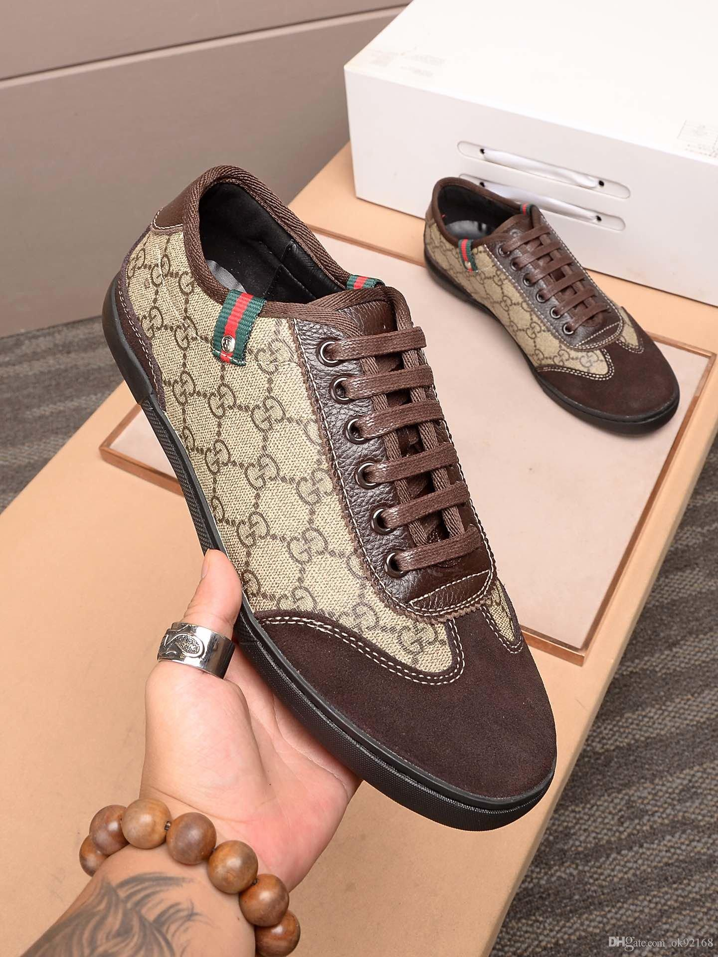 2020 SQ new high-quality designer men's high-end luxury comfortable comfortable casual leather sneakers