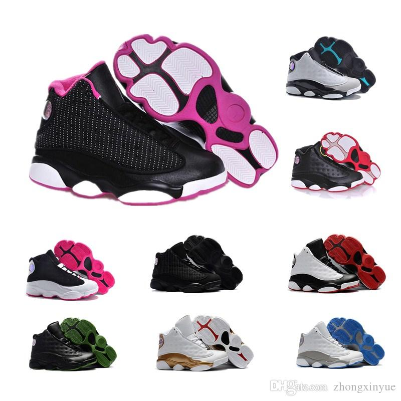 Cheap J 13s Children Basketball Shoes Boys Girls 13 XIII Sneakers Youth  GIFT Kids Sports Basketball Shoes Low Chutney DMP Mens Sneakers Basketball  Shoe Men ... e2d2fa6085f4