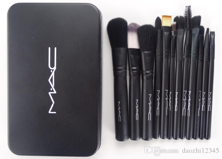 12pcs M &AC /NK-3 Makeup Brush Make Up Brushes brocha de maquillaje Set DHL Free Shipping