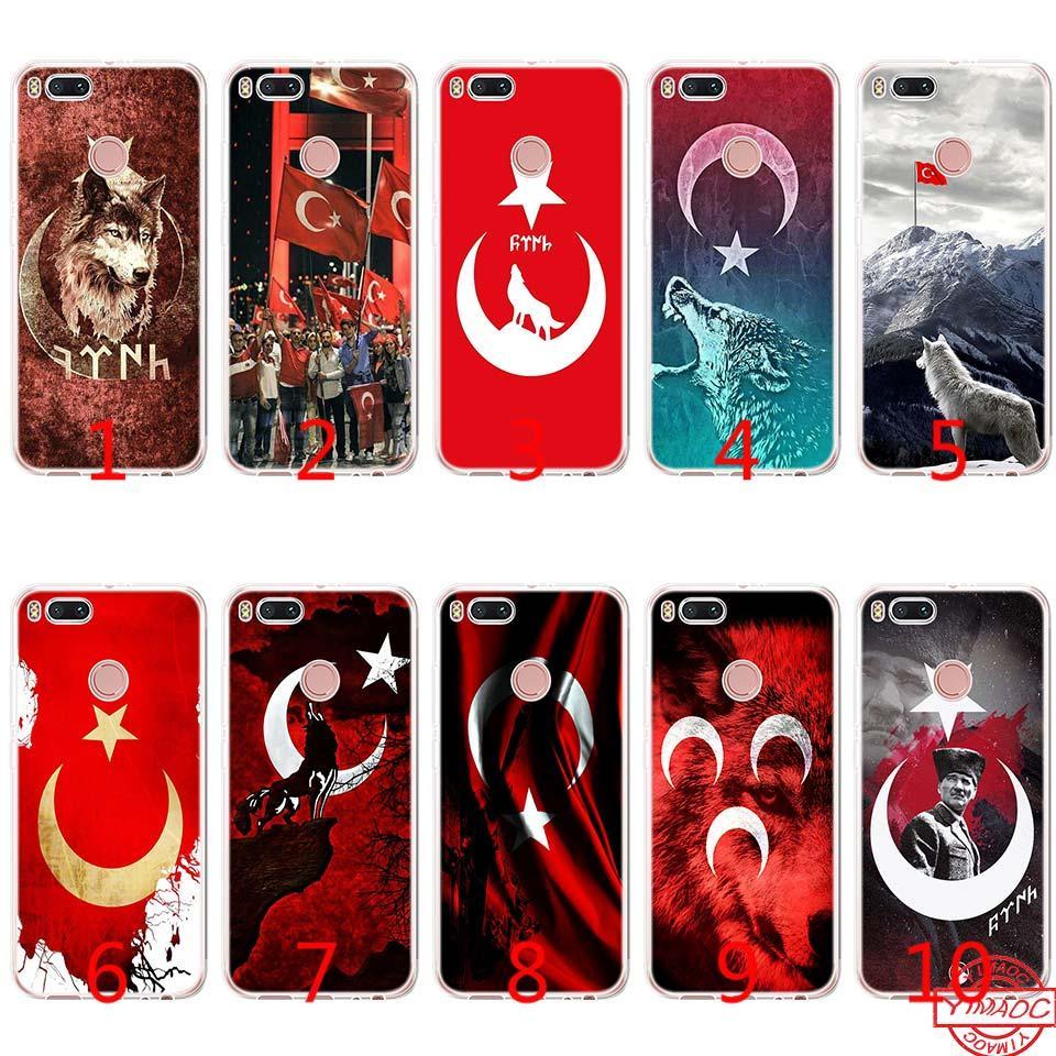 c822238a4ef05 Compre Lobo Peru Bandeira Silicone Macio Tpu Phone Case Para Xiaomi Mi A2  A1 Lite A1 5X 6X 8 SE 6 Mix 2 S Capa De Emmall