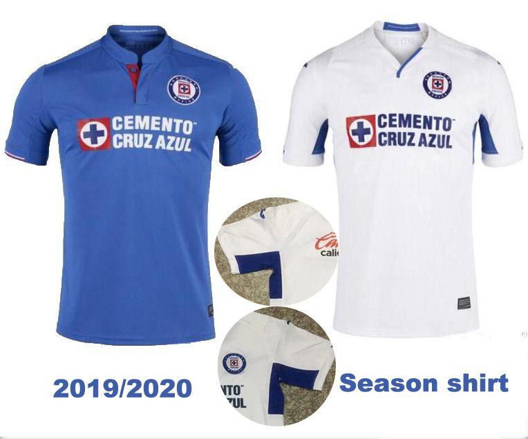 CRUZ AZUL Red Crossshirt 2019 2020 Mexico Club 2019 Temporada Mora Uniforme  De Fútbol En Casa Lejos Camiseta De Fútbol De Cruz Roja Por Jersey  home 4e8afed8d8b97