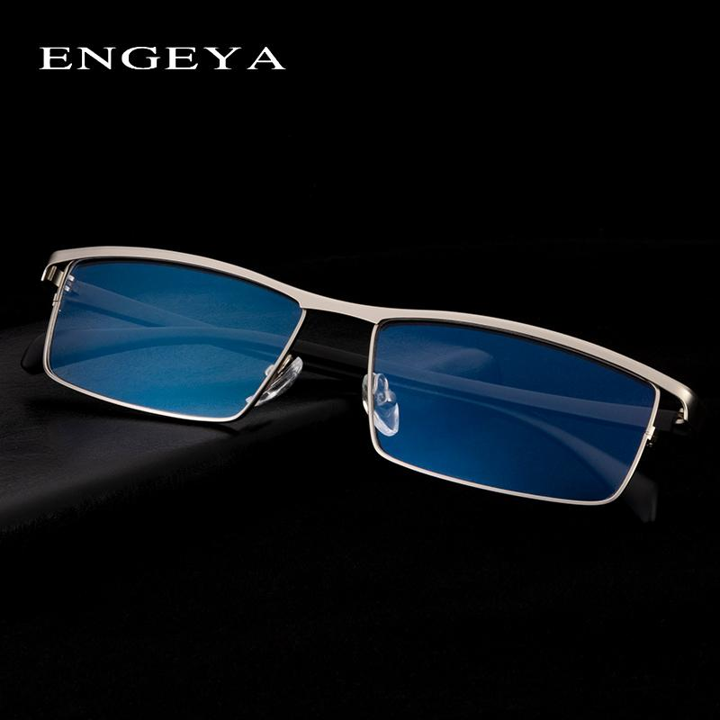 6e6457a910 Alloy Glasses Frame Men Fashion Brand Designer Square Myopia Optical  Prescription Eyeglasses Frame Business Eyewear  001 UK 2019 From Fotiaoqia