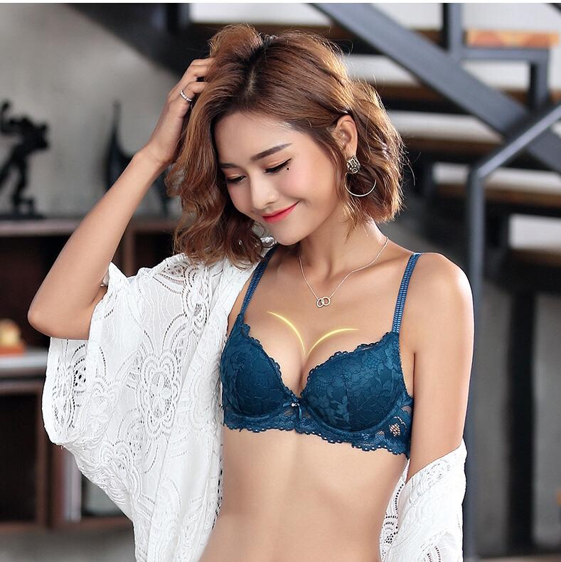 e3896d260d631 2019 New 2019 Lace Embroidery Bra Set Women Plus Size Push Up Underwear Set  Bra And Panty Set From Cftb underclothes