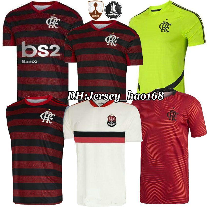 best loved 4d20c 13e76 19 20 flamengo jersey 2019 Flemish DIEGO GUERRERO VINICIUS JR Soccer  Jerseys Flamengo home red black sports Brazil football shirt women