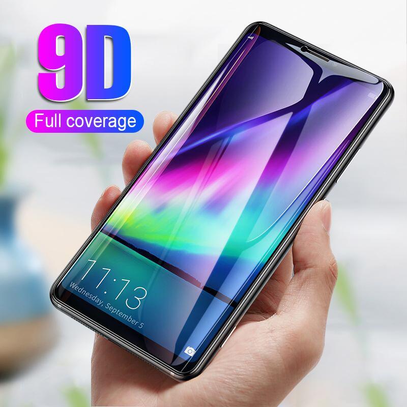 611d59d637324 Protectores De Telefonos Celulares Pantalla Protectora Completa De 9D  Cristal En El Para Huawei P20 Mate 10 Honor 10 8 9 Lite Protector De Vidrio  Templado ...