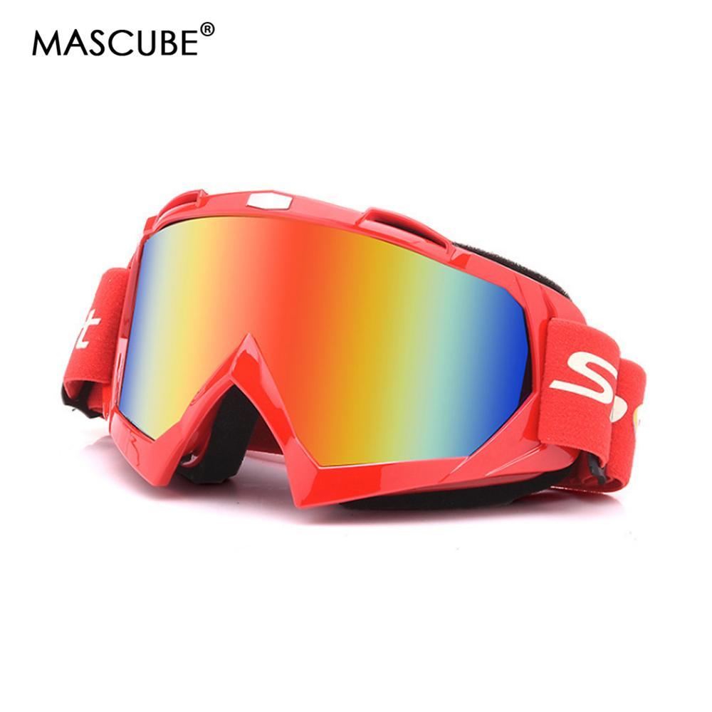 071ddd7677a1 Ski Goggles Winter Snow Sports Snowboard Anti-fog Ski Mask Glasses ...