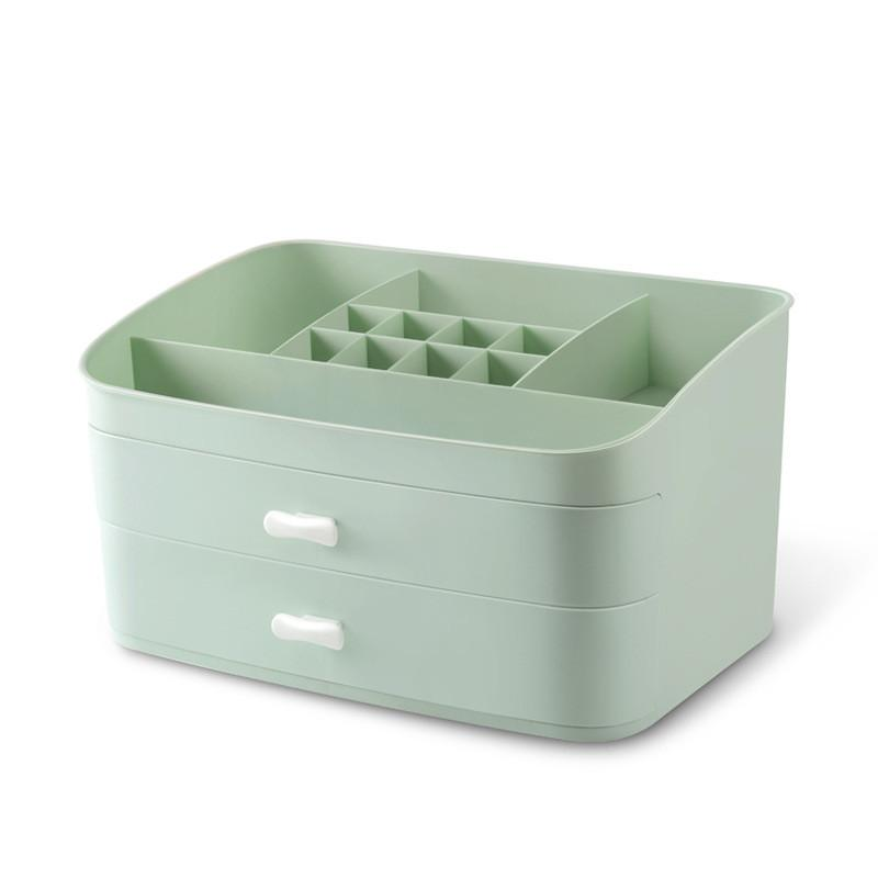 Plastic Desktop Sundries Storage Container Small Drawer Makeup Organizer Casket Creative Cosmetic Storage Box Jewelry Box
