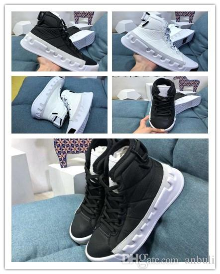 Enthusiastic New Fashion High Top Casual Shoes For Men Pu Leather Lace Up Red White Black Color Mens Casual Shoes Men High Top Shoes Men's Casual Shoes