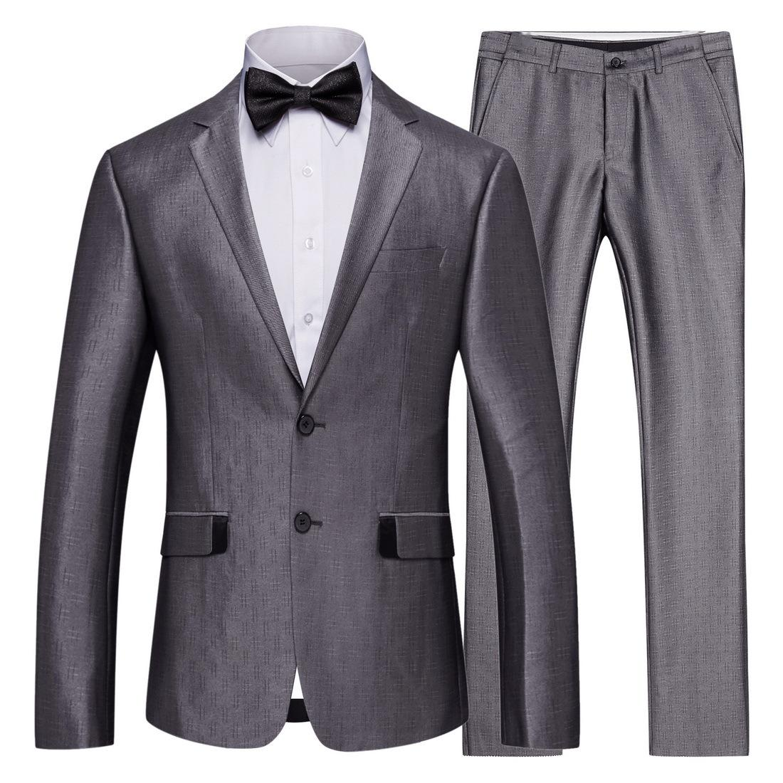 b9a5c284 2019 Mens Suits Regular Slim Fit Regular Sets Suitable Big And Tall For  Business Wedding Party Office Working US Style From Aaronliu880, $40.61 |  DHgate.Com