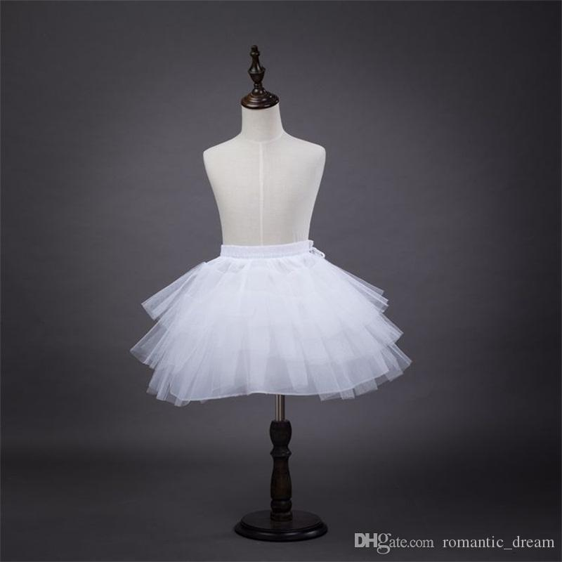 5ee951ab0 New Arrival Children Petticoats For Flower Girl Dress 3 Layers No Hoop  White/Red/Black Short Children Crinoline Girls/Kids/Child Underskirt  Petticoat ...