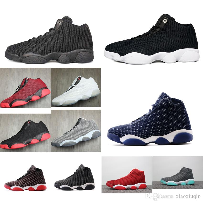 dc0c74c6fc072e Mens Retro 13s Low Basketball Shoes J13 Red Black White Wolf Grey ...