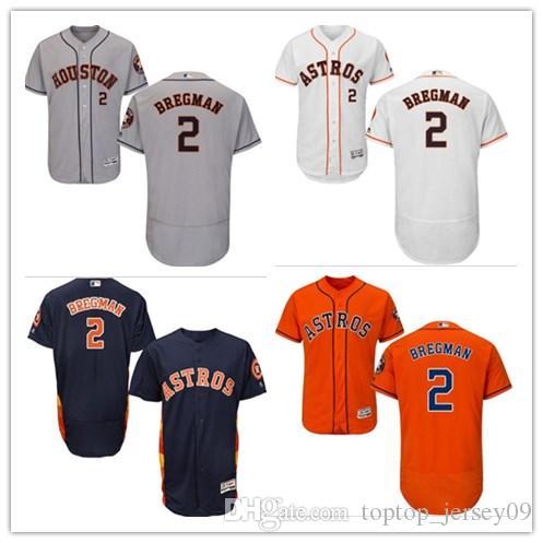 93a8e90c6f2 2018 Can Houston Astros Jerseys  2 Alex Bregman Jerseys Men WOMEN ...