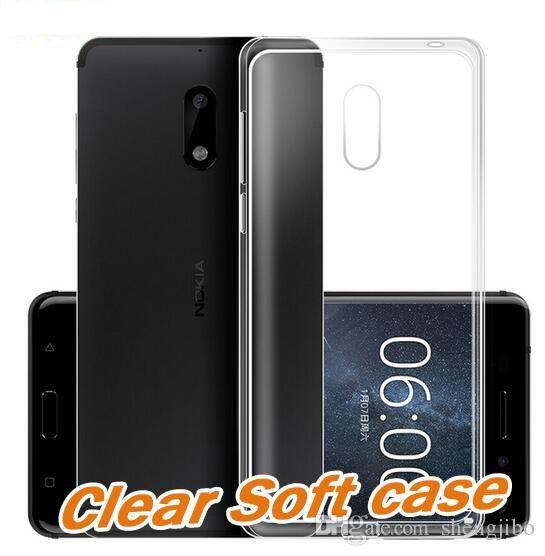 save off f6865 6c678 Original case For Nokia 3 5 6 8 9 Case Silicone Cover For Nokia3 Nokia6  Nokia5 Nokia8 Phone Transparent Clear Soft case