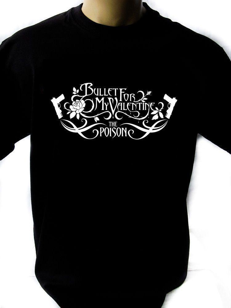 Bullet For My Valentine Vector Mens Black Rock T Shirt New Sizes S