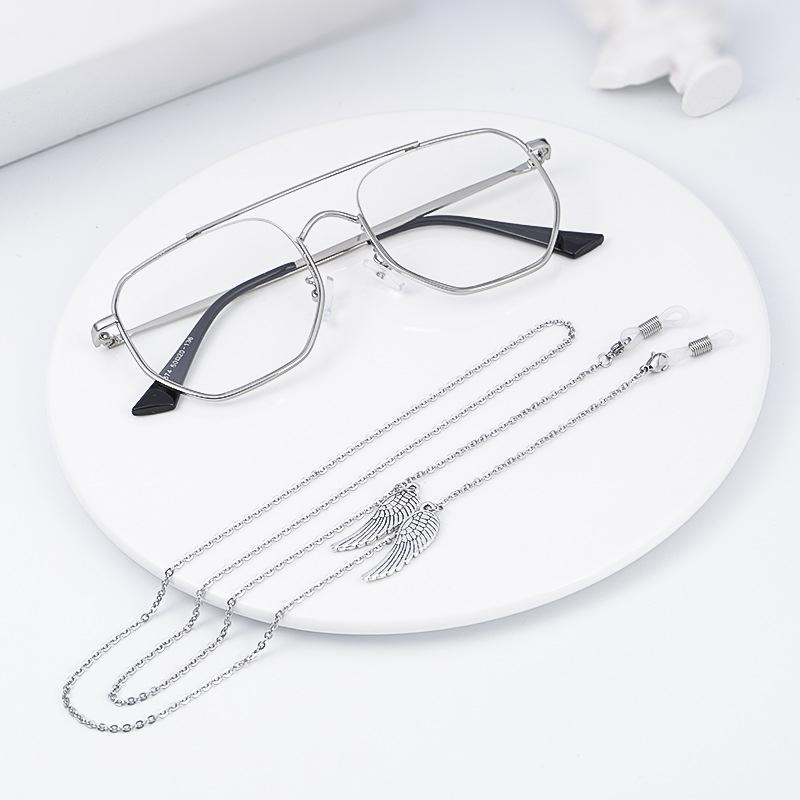 57ec78aa39a Angel Wing Tassel O Chain Eyeglasses Chains Sports Reading Glasses ...