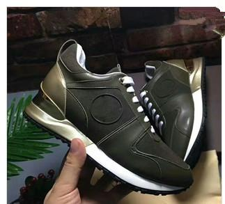 2019 Classic Genuine Leather Arena Brand Flats Sneakers Male High Top Shoes Fashion Luxury Casual Lace Up Shoes Size 35-42 yy18062805
