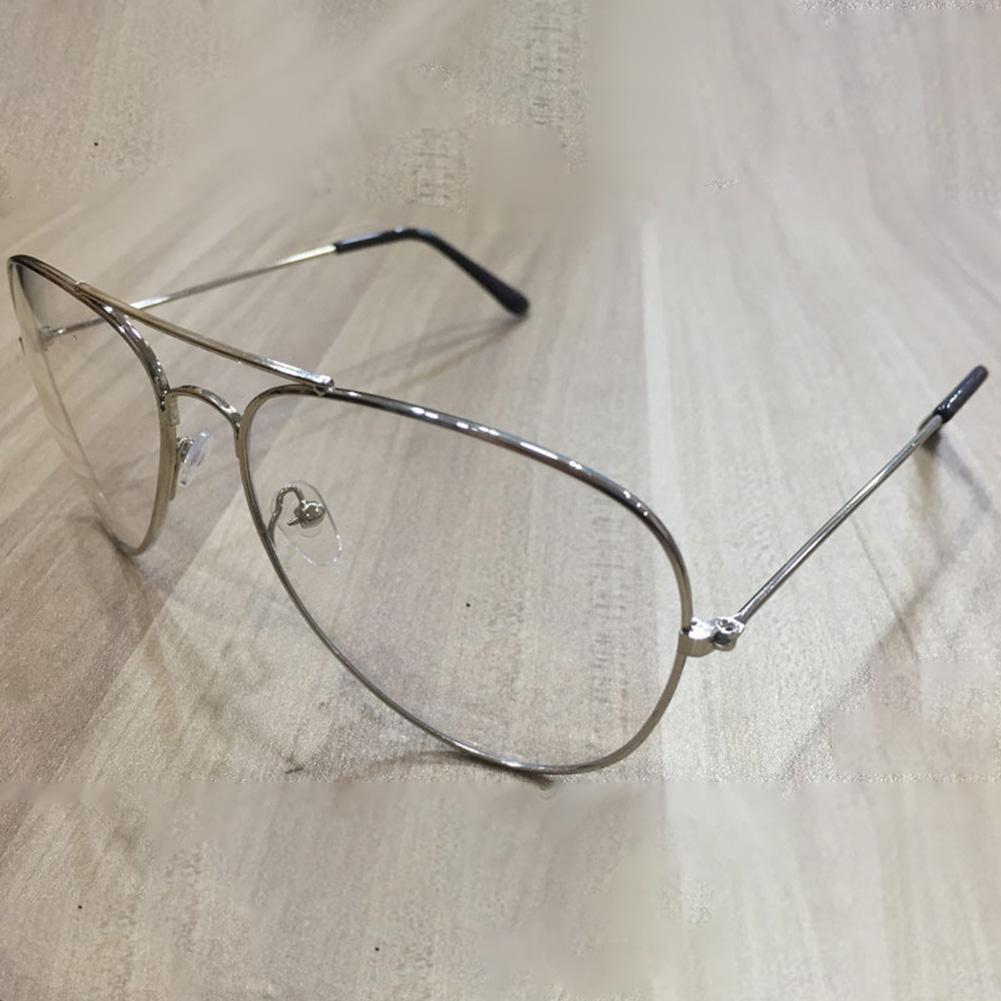 60c56e1dfdf 2019 Fashion Unisex Vintage Big Round Gold Metal Frame Glasses Oversize  Clear Lens Retro Chic Eye Glasses Street Shooting Decoration From  Ericgordon