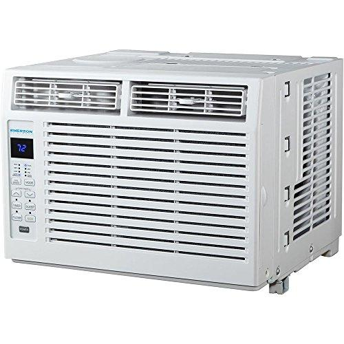 Emerson Quiet Kool EARC5RD1 5000 BTU 115V, White Window Air Conditioner with