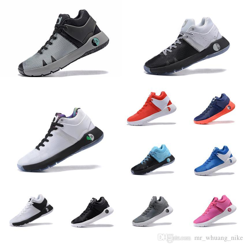 check out 1bcb4 add63 2019 Cheap Men KD Trey 5 IV EP Basketball Shoes Red White Black Aunt Pearl  Pink Cool Grey Gold Kds Kevin Durant Sneakers Boots Tennis For Sale From ...