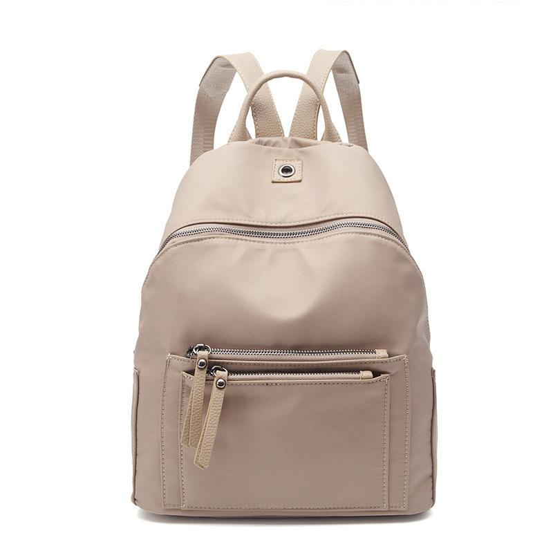 486f82d7bee Women Backpack Nylon Casual College Bookbag Female Retro Stylish Daily  Travel Bags For School Teenage Girls Backpack Amz1215 Backpacks For Girls  Waterproof ...