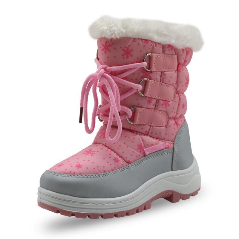 5e0b2d13e99 Compre Lã De Feltro Botas De Inverno Crianças Sapatos Meninas Crianças  Quentes Crianças Sapatos De Inverno Botas De Neve Da Menina Da Criança  Sapatos De ...