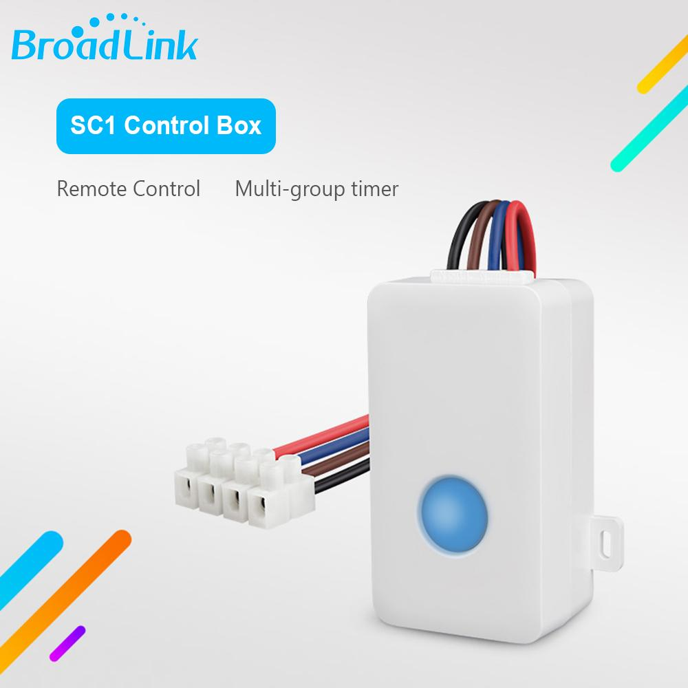 Broadlink SC1 Wifi Controller Work Alexa Google Home Smart Home Automation  Modules IOS Android APP Remote Controlled Switch
