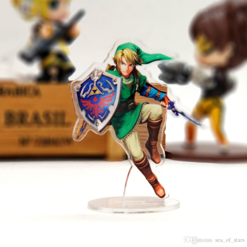 Over 27 Save 7 The Legend of Zelda Link acrylic stand figure model cake topper double-side anime toy table display