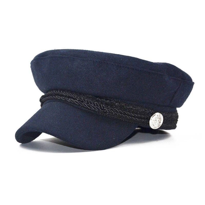 0de530342f053 2019 Men Women Winter Greek Fisherman Sailor Cap Fiddler Hat Peaked Cap  Sport Retro Beret With The Brim Cool From Mantous