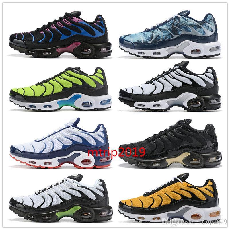 Designer Herrenschuhe 2019 TN Plus SE NIC QS Laufschuhe scarpe Tns Blau Grau Schwarz Weiß TN Requin Herren Sport Trainer Sneakers 40 46
