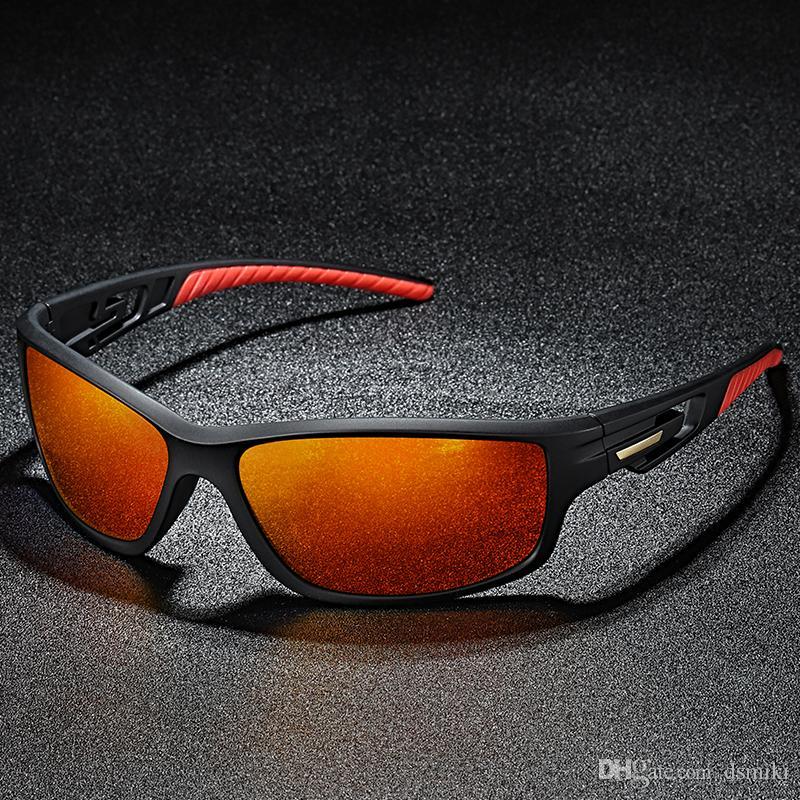 7b5b0db894be New Polarized Night Vision Sunglasses Polarized Sports Sunglasses Driving  Glasses Shades For Men TR90 Unbreakable Frame For Cycling Baseball  Prescription ...