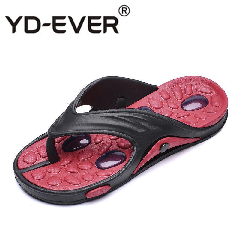 87b4ee17c62e New Summer Cool Water Flip Flops Men High Quality Soft Massage Beach ...