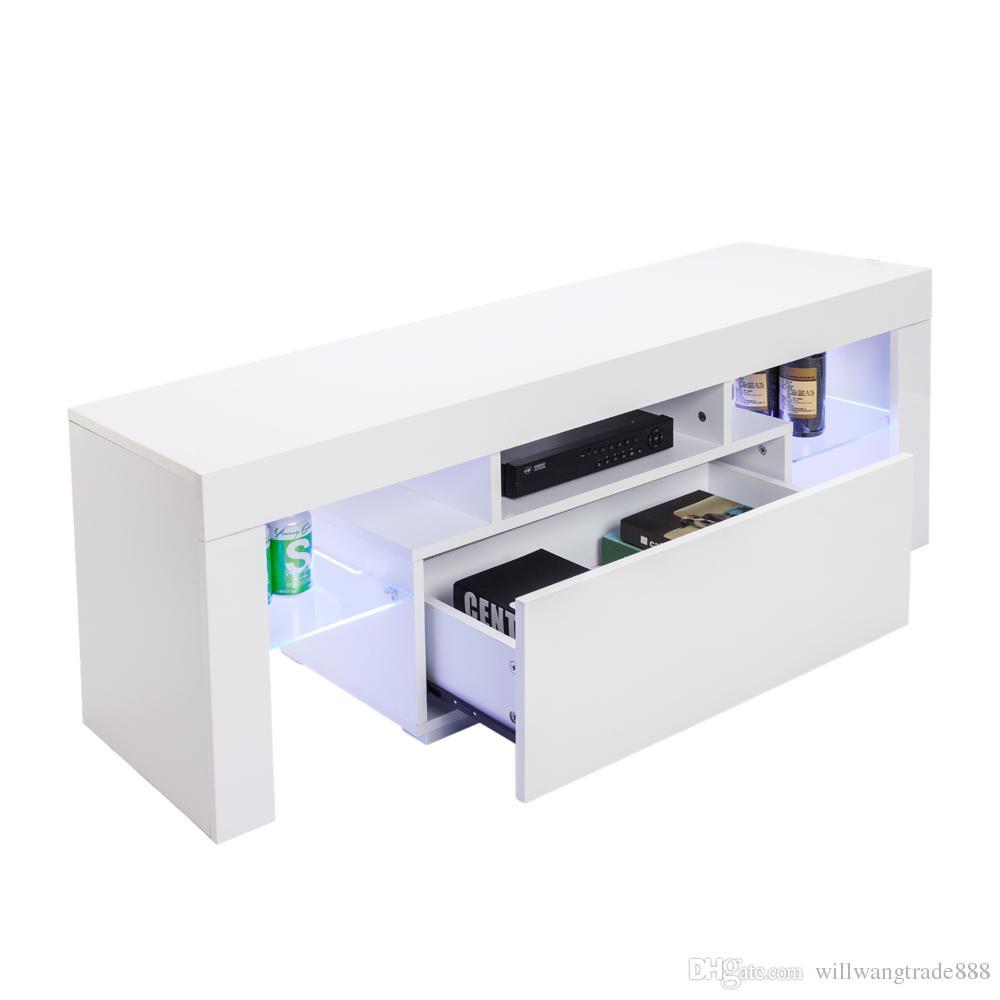 Großhandel Eleganter Led Tv Ständer Für Haushaltsdekoration Mit