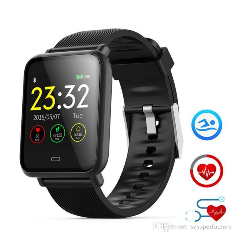 Männer Frauen Mode Sport Fitness Smart Uhr Armband Herz Rate Monitor Wasserdichte Blutdruck Smartwatch Für Ios Und Android Digitale Uhren