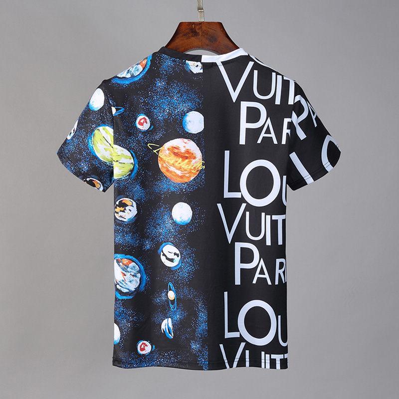 stampa gli uomini della T-shirt Preppy Style Tee maglietta a maniche corte formato asiatico M-3XL maglietta 2020 degli uomini della novità casuale Adatti
