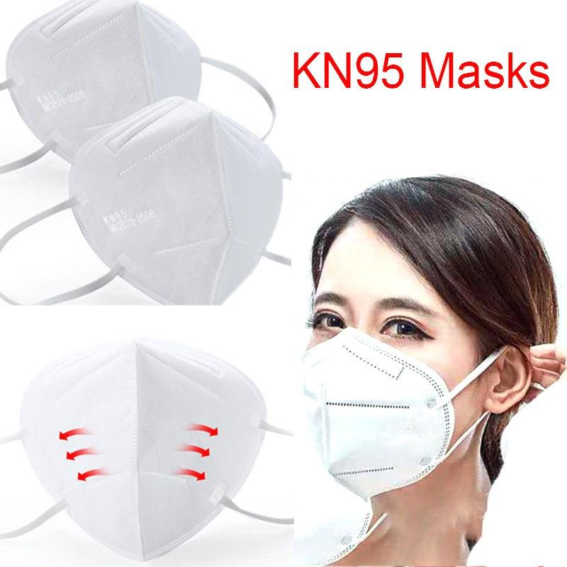 24 Hours Ship! N95 Masks KN95 Health Face Mouth Mask Active Against Bacteria Prevention of Bacterial Virus Free Shipng Disposable Face Mask