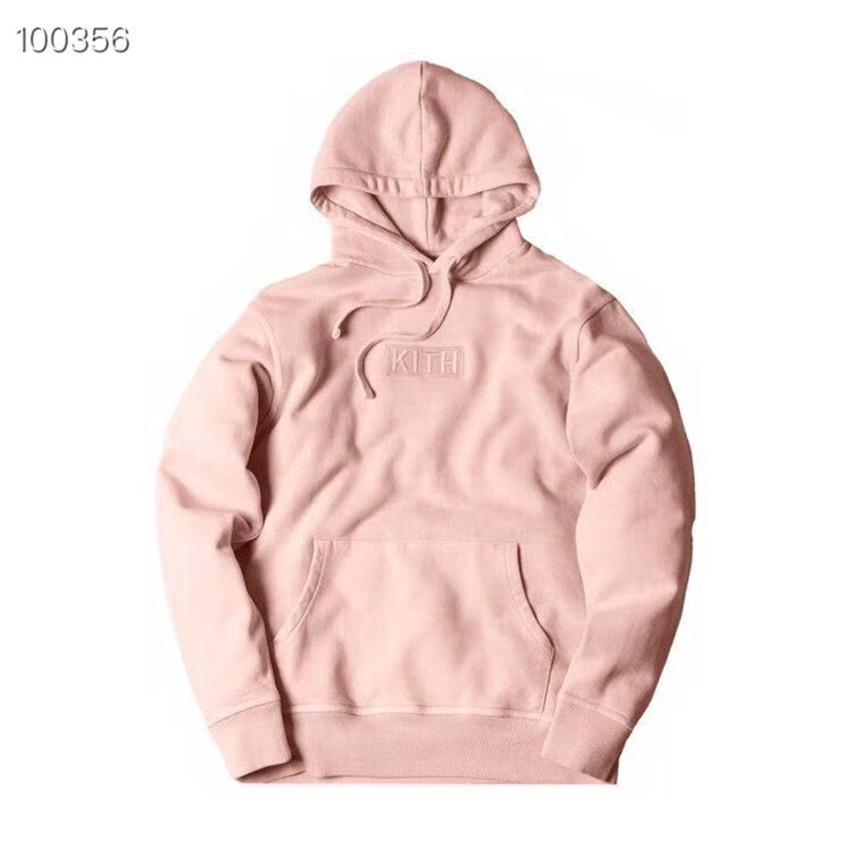 BOX LOGO Broderie KITH HOODIE hommes WomenBest Qualité KITH Tom Sweatshirts Casual