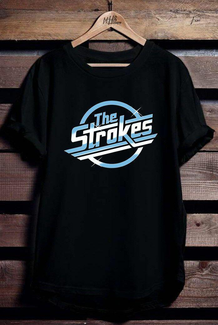 b4f52e83 NEW THE STROKES BAND LOGO USA SIZE T SHIRT Funny Unisex Casual Top  Offensive T Shirts Sports T Shirts From Paystoretees, $12.96  DHgate.Com