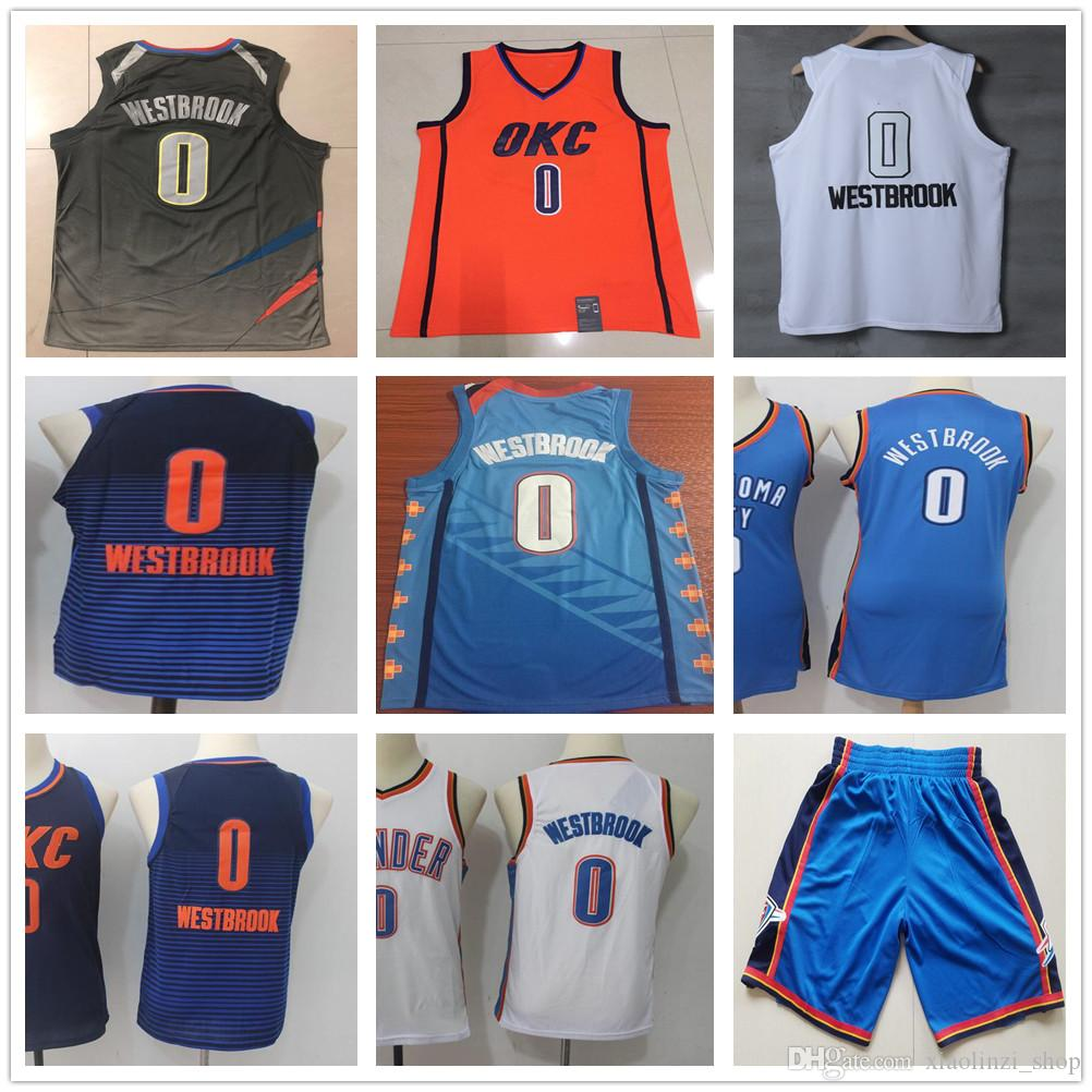 7efeae355 ... basketball jersey ncaa white blue 70772 9cac2  promo code for 2019 kids  youth mens women 0 russell westbrook jersey new city edition turquoise