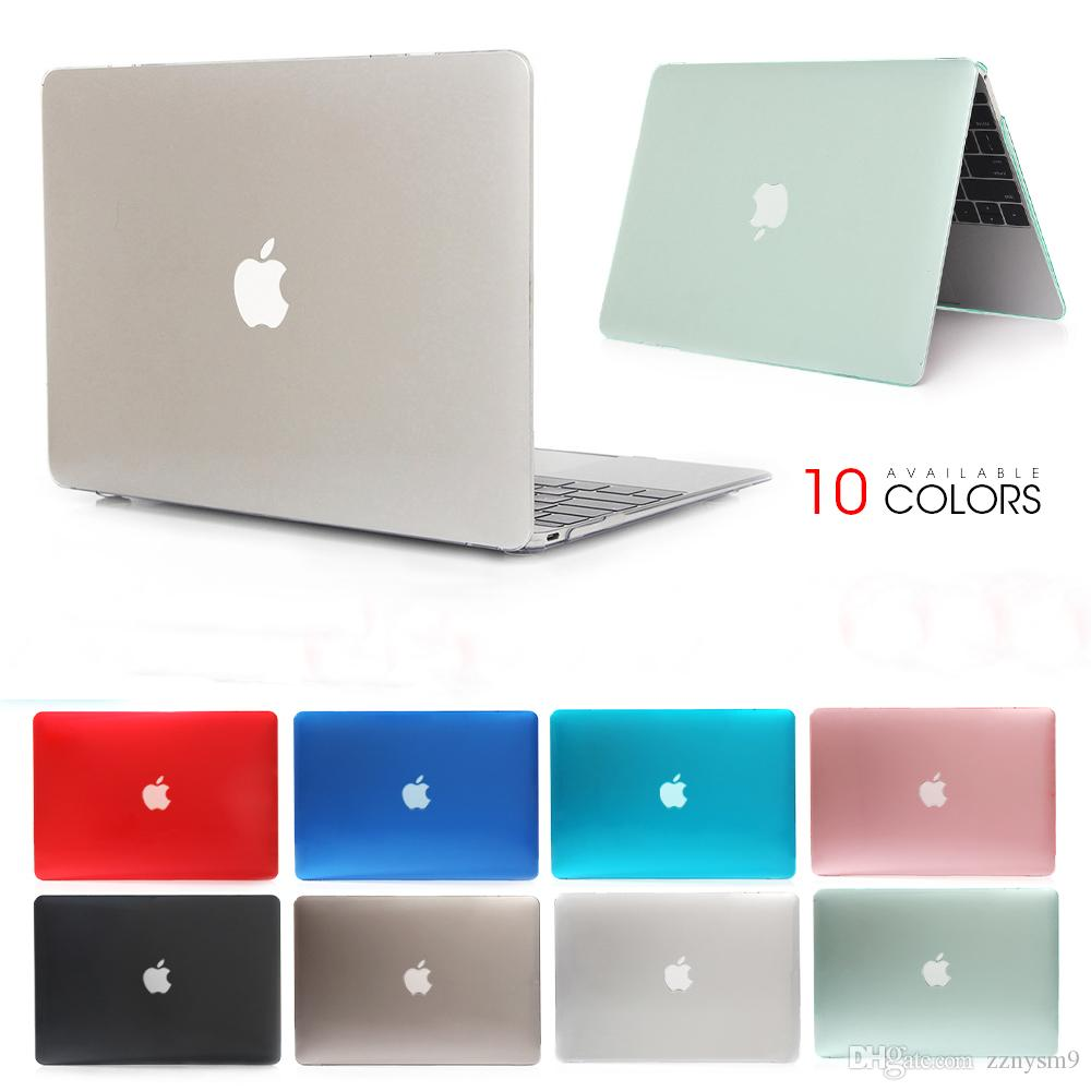 Crystal Laptop Case For laptop Macbook Mac Book Air Pro Retina 11 12 13 15 15.4 13.3 inch with Touch Bar Sleeve Bag Shell Cover