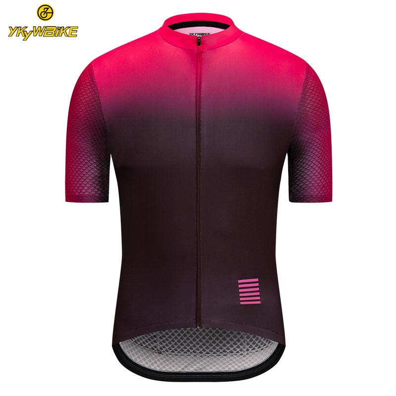 8073e05d2 YKYWBIKE 2019 Cycling Jersey Men Summer Racing Cycling Clothing Ropa ...