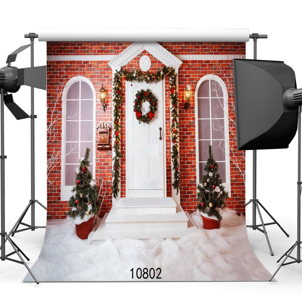 SHENGYONGBAO Art Cloth Custom Photography Backdrops Prop Christmas day Theme Photography Background 10802
