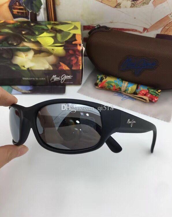 a556081da7d Brand Maui Jim MJ 103 Sunglasses Polarized Sun Glasses MJ103 Polarized  Sunglasses Men Women MJ Sports Super Light Glasses For Driving Sunglasses  Frame ...