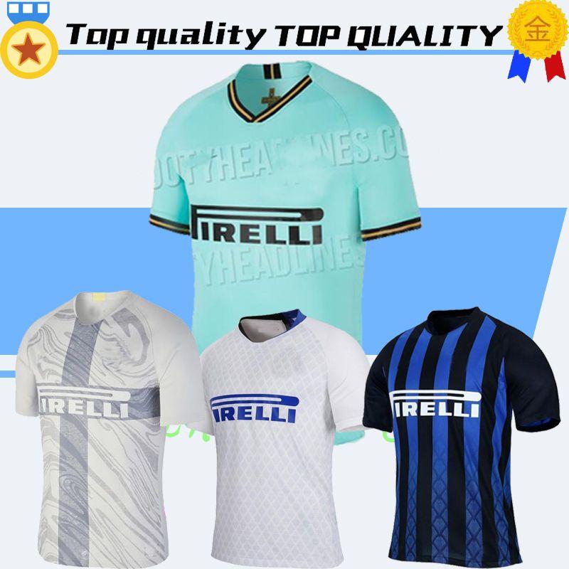 sale retailer fdc24 9f25b 19 20 Inter Jersey 20th anniversary Milan ICARDI LAUTARO PERISIC NAINGGOLAN  champion jerseys Thailand Soccer Uniform Tracksuit MASHUP Mil