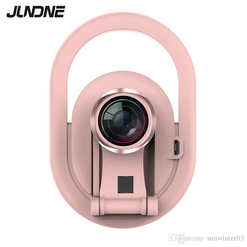 9134847c05af 2019 Charging Wide Angle Camera LED Flash Beauty Fill Selfie Lamp Outdoor  Selfie Ring Light Rechargeable For All Mobile Phone By DHL From  Sunwinter03