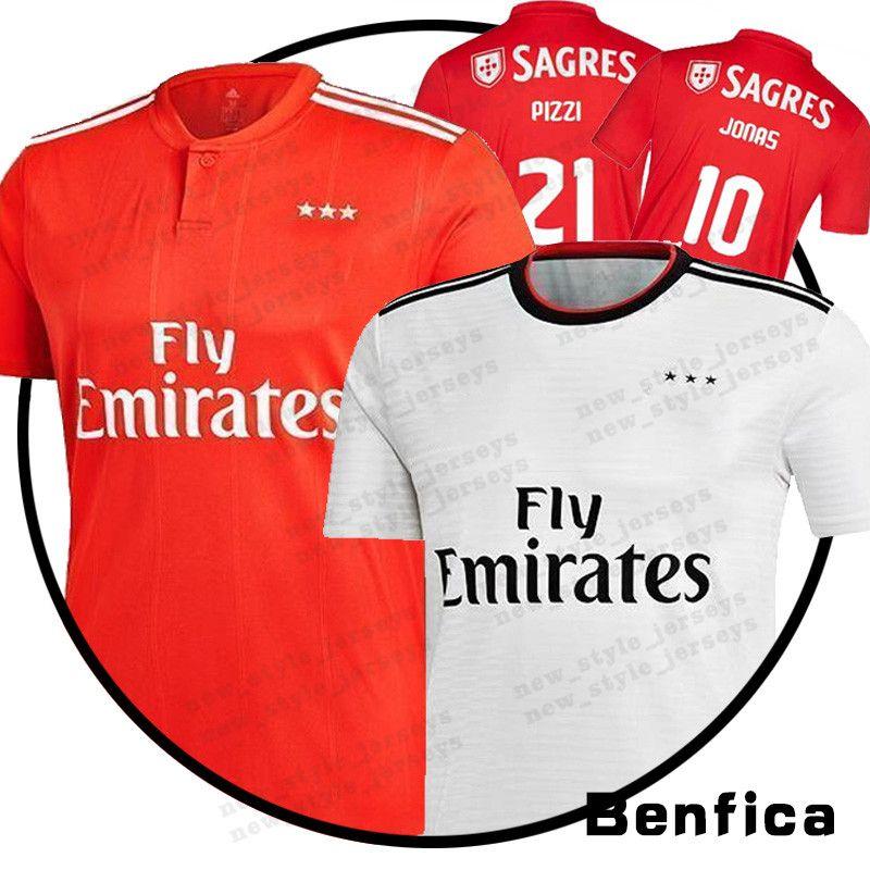 new style 201d5 59089 2019 Men Benfica jersey 10 JONAS 21 PIZZI 11 GABRIELB 14 SEFEROVIC 6  KALAICA 18 ZIVKOVIC 17 SALVIO Soccer Jerseys