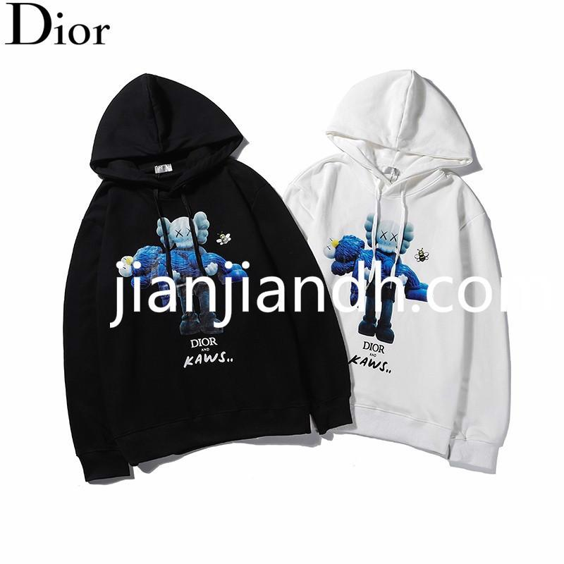 2019 autumn and winter Europe and the United States new fashion hooded sweater short paragraph loose men and women models star 720 762#