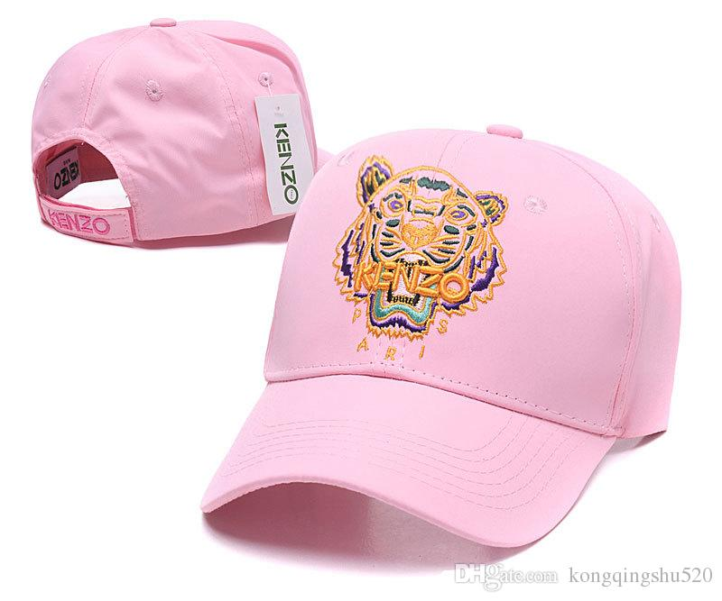 Luxury Pairs Brand Baseball Caps Gold Tiger Embroidered Snapback Hats Cheap  Instagram Fitted Cap Pink Women Designer Trucker Caps DF17G30 Flat Caps  Trucker ... 39870a57cc9