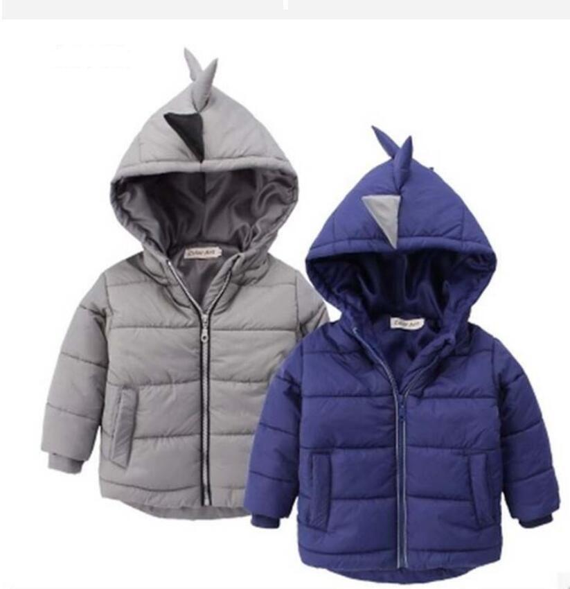 e56dcccbd2 2019 nuovo arrivo bambini cappotto bambini giacca bambini tuta sportiva  bambino trincea dinosauro cartoon abbigliamento bambino bambini Piumino